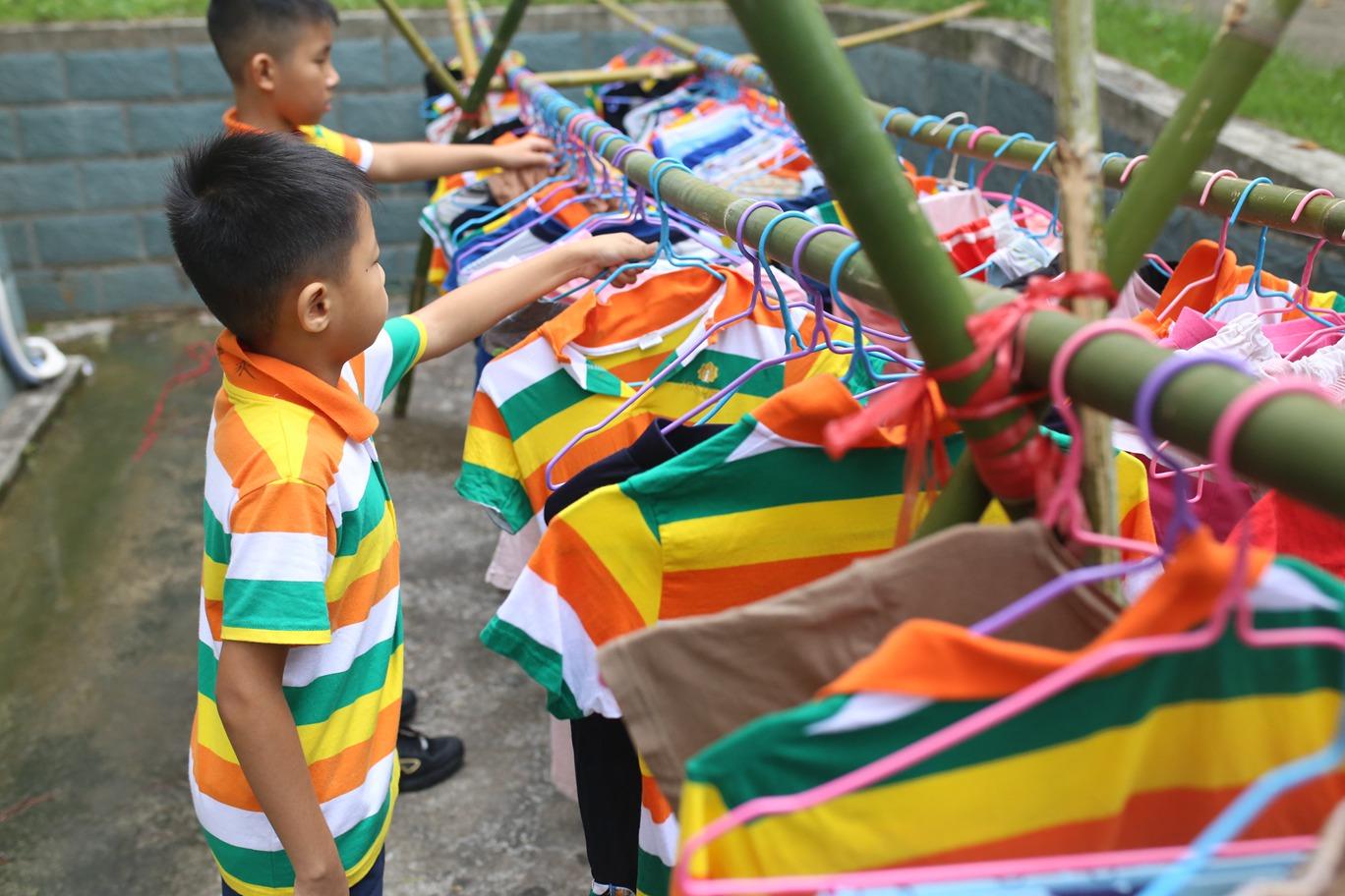 孩子在夏令营中的成长